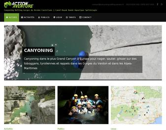ACTION AVENTURE : Rafting Verdon