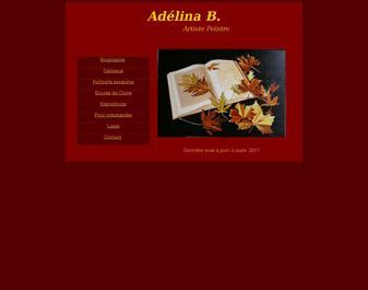 Adélina peintre figuratif