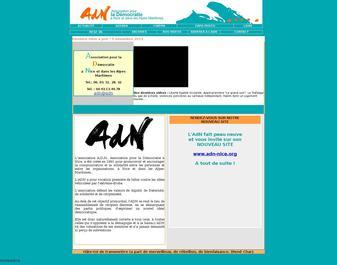 ADN – Association pour la Démocratie à Nice et dans les Alpes Maritimes