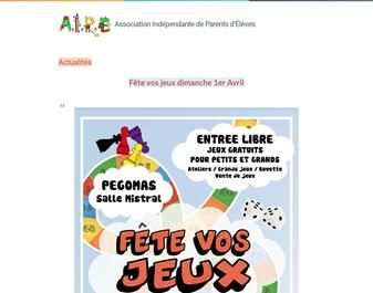 AIPE, Association Indépendante des Parents d'Elèves de Pégomas