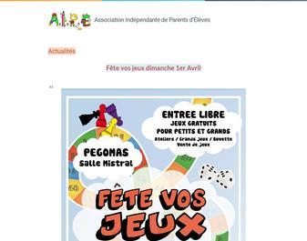 AIPE, Association Indépendante des Parents d'Elèves de Pégomas