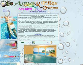 Aquarelles : Aquagym Toulon