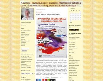 Aquarelles Masmoulin