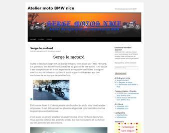 Atelier moto BMW à Nice