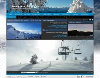 AVALANCHE 06 – 1er Portail Glisse des Alpes du Sud…