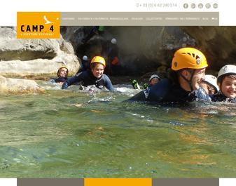Aventure verticale CAMP4