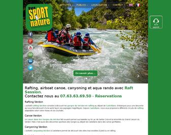 Base Sport Nature – Rafting Verdon
