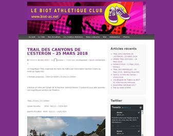 Biot Athlétique Club