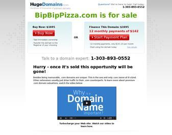 bip bip pizza : livraison de Pizza a Nice