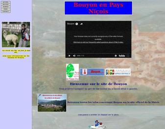 Bouyon en pays Niçois