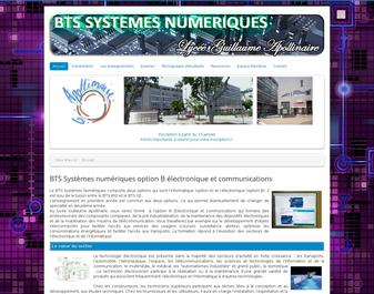 BTS SYSTEMES ELECTRONIQUES – Nice (Alpes Maritimes)