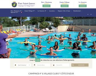 Camping PARC SAINT JAMES-LE SOURIRE ****