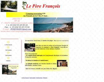 Camping PERE FRANCOIS **