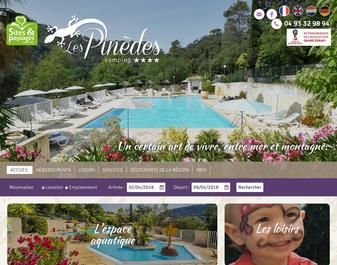 Camping PINEDES (les) ***