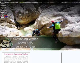 Canyoning vers Nice et Castellane