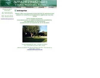 cecchetti espaces verts