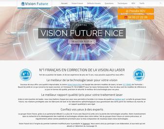 Centre Visionfuture: traitement au lasik des defauts de vision