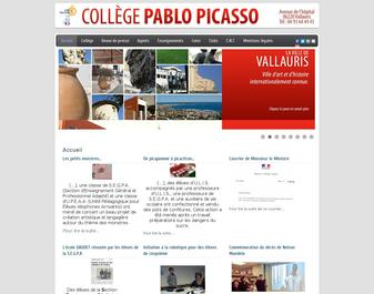 Collège Pablo Picasso – Vallauris – Alpes Maritimes