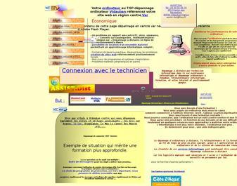 Dépannage ordinateur vidauban, création de sites