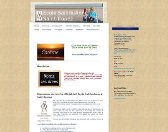 Ecole Sainte-Anne à Saint-Tropez