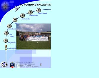 FC FOURNAS VALLAURIS Site officiel du football club du FOURNAS VALLAURIS