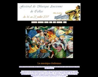 Festival de Musique Ancienne de Callas