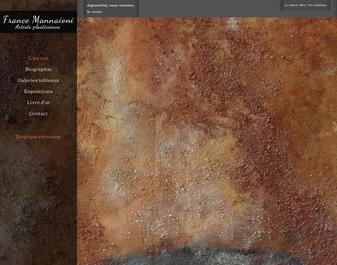 France Mannaioni présente sa galerie …