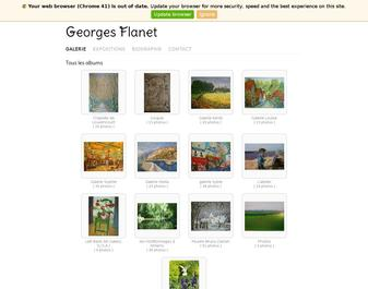 Georges FLANET – arstiste peintre