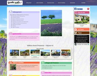 Guide Web Provence