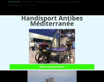 HANDISPORT ANTIBES MEDITERRANEE