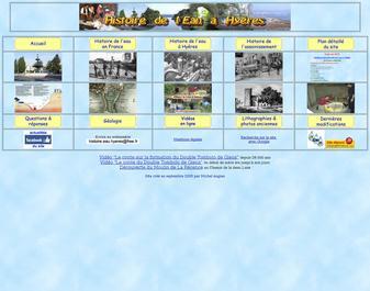 Histoire de l'eau et de l'assainissement de la Ville d'Hyères