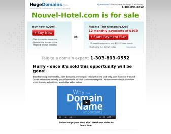 Hôtel NOUVEL HOTEL (le) **
