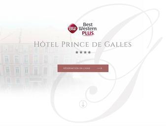 Hôtel PRINCE DE GALLES BEST WESTERN ***