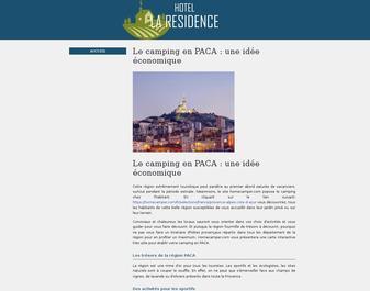 Hôtel RESIDENCE (la) **