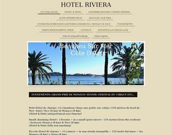 Hôtel RIVIERA *