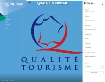 Hotels, campings et restaurants du Var par la CCI du Var