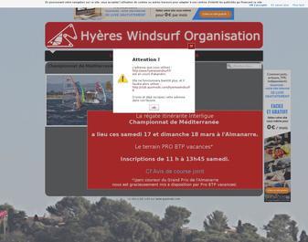 Hyères Windsurf Organisation