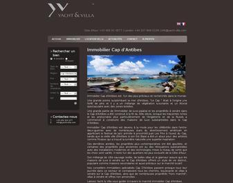Immobilier Cap D'Antibes