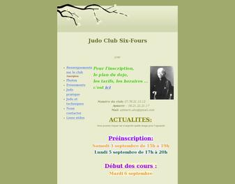 judo club six-fours