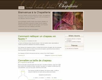 La chapellerie