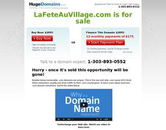 La fête au village.com