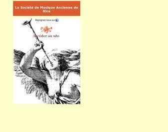 La Societe de Musique Ancienne de Nice