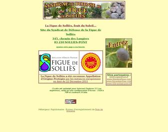 Le site du Syndicat de Défense de la Figue de Solliès