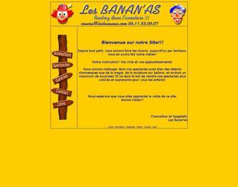 Les Banan'as sur le Net