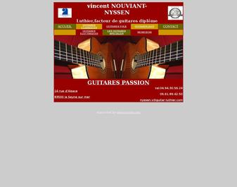 luthier guitare