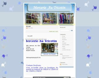mercerie au tricotin