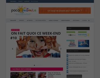 pacamomes : portail parents enfants PACA