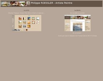 Philippe Roessler, Artiste Peintre