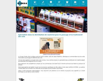 Produits Giorda – traitement et rénovation des sols