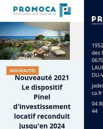 Promoteur immobilier à Saint-Laurent-du-Var